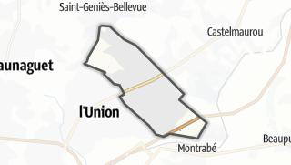Térkép / Saint-Jean