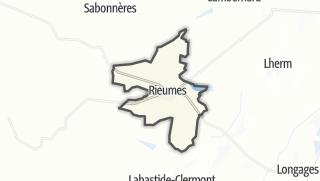 Térkép / Rieumes