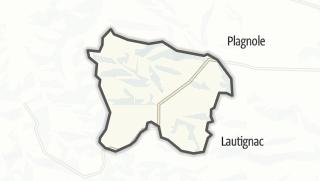 Térkép / Le Pin-Murelet