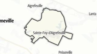 Térkép / Sainte-Foy-d'Aigrefeuille