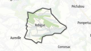 Térkép / Rebigue