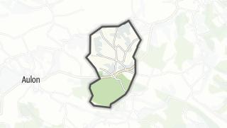 Térkép / Saint-Elix-Séglan