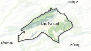 Térkép / Saint-Plancard