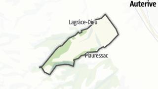 Térkép / Puydaniel