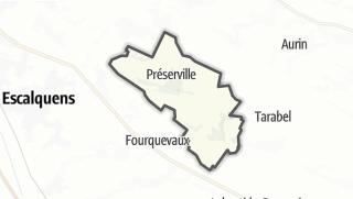 Térkép / Préserville