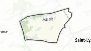 Térkép / Saiguède
