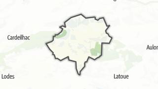 Térkép / Saint-Marcet