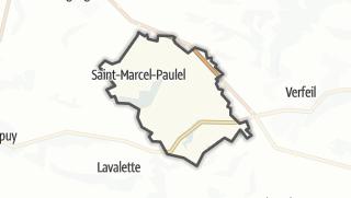 Térkép / Saint-Marcel-Paulel