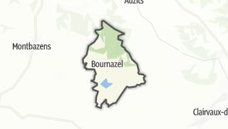 Hartă / Bournazel