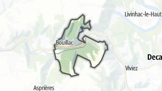 Hartă / Bouillac
