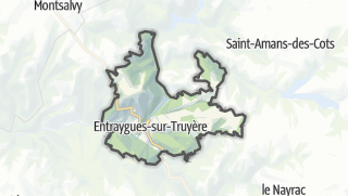 Hartă / Entraygues-sur-Truyère