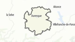 Hartă / Durenque