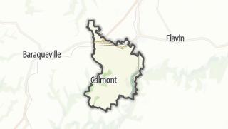 Hartă / Calmont