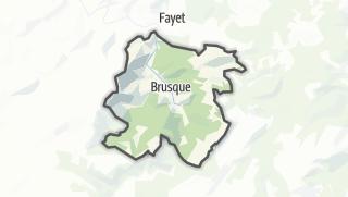 Hartă / Brusque