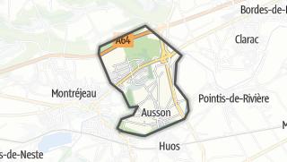 Térkép / Ausson