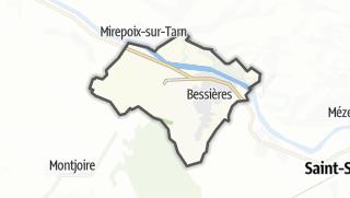 Térkép / Bessières