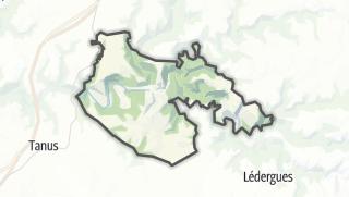 Hartă / Saint-Just-sur-Viaur