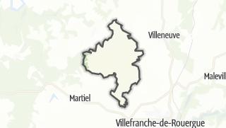 Hartă / Sainte-Croix
