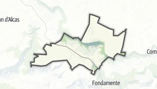 Hartă / Saint-Beaulize