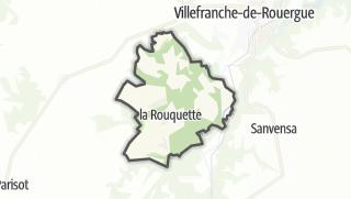 Hartă / La Rouquette