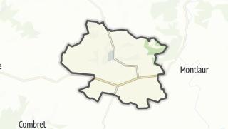 Hartă / Rebourguil