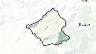Hartă / Peux-et-Couffouleux