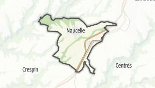 Hartă / Naucelle