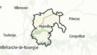 Hartă / Maleville