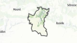 Hartă / Muret-le-Château