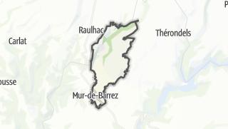 Hartă / Mur-de-Barrez