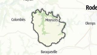 Hartă / Moyrazès