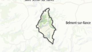 Hartă / Laval-Roquecezière