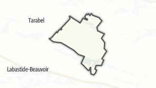 Térkép / Caragoudes