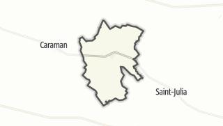 Térkép / Auriac-sur-Vendinelle