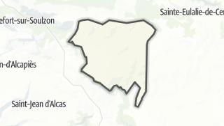 Hartă / Viala-du-Pas-de-Jaux