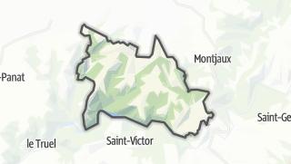 Hartă / Viala-du-Tarn