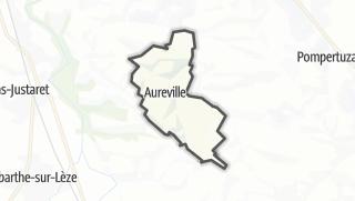 Térkép / Aureville