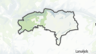 Hartă / Veyreau