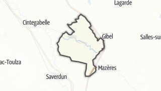 Térkép / Calmont