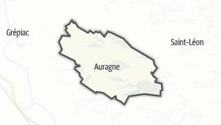 Térkép / Auragne