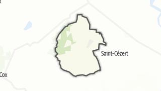 Térkép / Le Burgaud