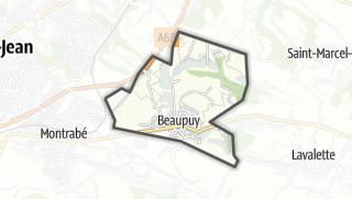 Térkép / Beaupuy