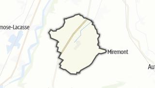 Térkép / Beaumont-sur-Leze