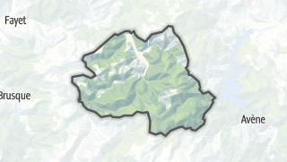 Hartă / Tauriac-de-Camarès
