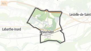 Térkép / Beauchalot