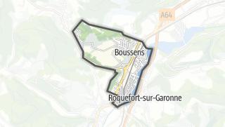 Térkép / Boussens