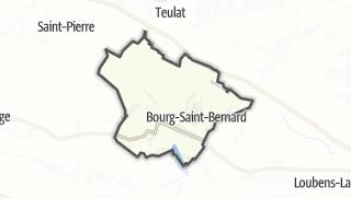 Térkép / Bourg-Saint-Bernard