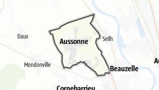 Térkép / Aussonne