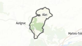 Térkép / Alan
