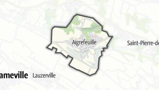 Térkép / Aigrefeuille